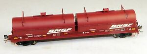 Red Caboose #RR-32563-02 Evans Coil Steel Car BNSF #527236 1/87 HO Scale