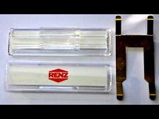 Renz Namenschild 64x19mm m.Feder f.Briefkastenklappe 97-9-00303 Kunststoff,klar