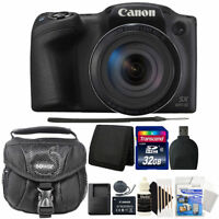 Canon PowerShot SX420 IS 20MP Digital Camera with 32GB Professional Accessories