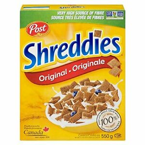 Post Shreddies 550g box {Imported from Canada}