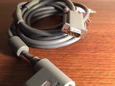 Official Microsoft Xbox 360 VGA AV Cable w/ Toslink Digital & Composite Audio