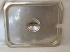Restaurant Equipment Supplies 12 Half Size Stainless Steel Lid Slotted