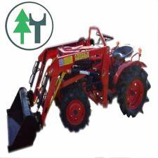 Traktor Schlepper Allrad Kubota B7000 und Frontlader neu lackiert überholt