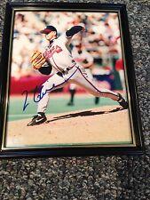 Tom Glavine #47 Autographed 8x10 Photo Atlanta Braves Authentic COA HOF