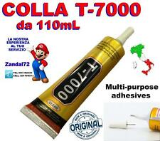T-7000 NERA 110mL COLLA ZHANLIDA INCOLLAGGIO VETRO FRAME LCD SAMSUNG APPLE LG