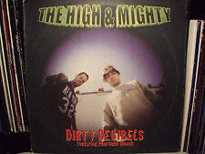 """THE HIGH & MIGHTY - DIRTY DECIBELS / WEED / B-BOY DOCUMENT (12"""")  1999!!  RARE!!"""