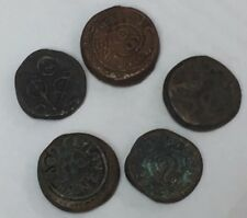 1792 Dutch East Indies Colonial Voc Ceylon Galle 2 Stuiver & Other Ancient Coins