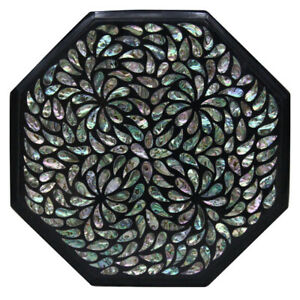 "15"" Marble Table Top Inlay pietradura Handicraft Work Home Decor"