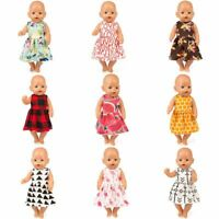 Fashion Clothes Dress Wear Fit 43cm Baby Born Reborn Doll 17 Inch Dolls Clothes