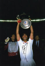 Ruud Gullit, AC Milan, Holland, PSV, signed 12x8 inch photo. COA. Proof.