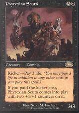 MTG magic cards 1x x1 Light Play, English Phyrexian Scuta Planeshift