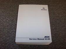 2003 2004 2005 2006 Acura MDX Shop Service Repair Manual Touring 3.5L V6