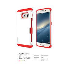 Phonefoam Secret Case for Samsung Galaxy S6 Edge Card Holder Korean White Red