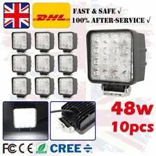 10X 48W LED Driving Work Light Flood Beam Offroad 4x4 Excavator for Jeep Lights