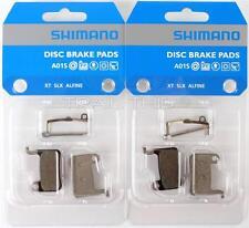 2 Packs Shimano A01S BR-M775 Resin Disc Brake Pads fits XT XTR SLX Deore Alfine