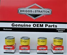 4 pack  GENUINE Briggs & Stratton  696854 Oil Filter PRO Series : Extended Life