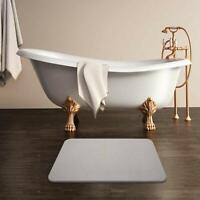 Tapis de salle de bain diatomite super absorbant écologique anti dérapent 60x39