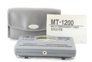 Korg MT-1200 Master Tune Tuner MULTI TEMPERAMENT TUNER mt1200  /A784716