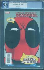 Marvel Spotlight Deadpool 1 PGX CGC 9.8 SS Ryan Rynolds Movie 12 Variant swipe