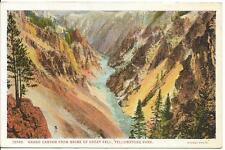 Postcard - Grand Canoyn of Yellowstone - Yellowstone. Unposted. J E Haynes