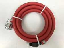 "Pneumatic Whip Hose 6' Length 1/2"" Hose with Swivel & CP Fitting L-5"