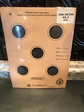 A-5 NRA Official 50 Foot small bore rifle target One Dozen New Old Stock Vintage