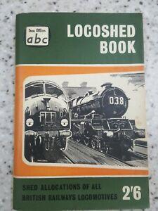 Ian Allan ABC Locoshed 1959 all Locos Book BR Locomotives 2'6
