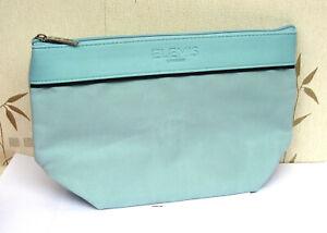 Elemis Large Blue Textured Lined Make Up Bag New