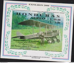 O) 2000 HONDURAS, ERROR PERFORATED, PILOT SUMNER B. MORGAN, AIRPLANE AEROMARINO