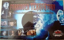 FORBIDDEN TERRORTORY DVD GAME HAMMER DRACULA KRONOS FRANKENSTEIN VAMPIRE SEALED