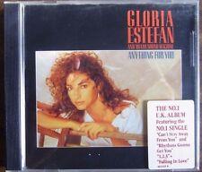 GLORIA ESTEFAN & THE MIAMI SOUND MACHINE : Anything For You. CD 1989 Pop Album.