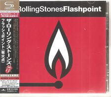 """ROLLING STONES """"Flashpoint"""" Japan SHM-CD + Obi Rare"""