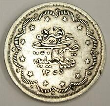 c1845 Turkey Ottoman Empire 10 Kurush KM#674  AH1255/6  VF30