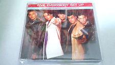 "FIVE ""EVERYBODY GET UP"" CD SINGLE 3 TRACKS"