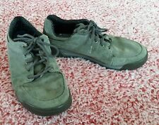 Patagonia Men 9 Forge Grey Suede Lace-Up Vibram Outdoors Low Ankle Hiking Shoes