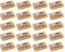 BIC Chrome Platinum Double Edge Safety Razor Blades - 100 Blades