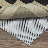 Premium Non Slip Area Rug Pad Gripper for Any Hard Surface Floors Protect Carpet