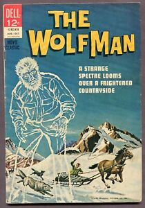 The WOLFMAN #1 Dell Movie Classics 1964 FN-