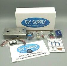 DIY Guitar Effects Pedal Kit - JFET Pre-amp w/ Gain Mod - Detailed Instructions