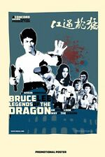 Bruce Lee Forever  BRUCE LEE: LEGENDS OF THE DRAGON (A3) PROMOTIONAL POSTER BY S