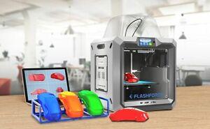 Flashforge Guider 2s 3D Printer RESUME PRINTING 280*250*300mm BUILT-IN CAMERA