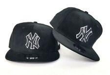 New Era New York Yankees Black corduroy 9Fifty Snapback Hat Cap