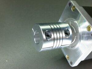 12.7mm x 14mm Large Heavy Duty Flexible Motor Shaft Clamp Coupler Coupling Rare