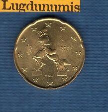 Italie 2007 - 20 centimes d'Euro - Pièce neuve de rouleau - Italia