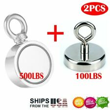 100500lbs 2x Pull Force Fishing Magnet Super Strong Neodymium Hunting Salvage