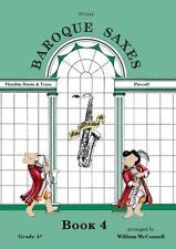Baroque Saxes: Book 4 (Duets/Trios, Purcell Grade 4+) SP1244