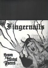 FINGERNAILS - heavy metal forces LP