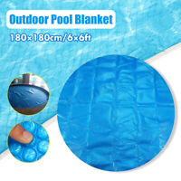 6Ft Round 400 Micron Swimming Pool Hot Tub Cover Solar Blanket Retention Bubble