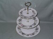 Royal Worcester June GARLAND 3 étages hôtesse de la Chine à gâteau plat Support (lot a)