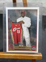 LEBRON JAMES Rookie Rc 2003-04 Topps Authentic Cavs Topps 221 Possible PSA 9 10